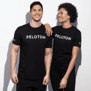 Peloton Century Club Black Short Sleeve T-Shirt